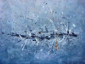 Nu Civilisation Orchestra-Painting by Emma Godebska