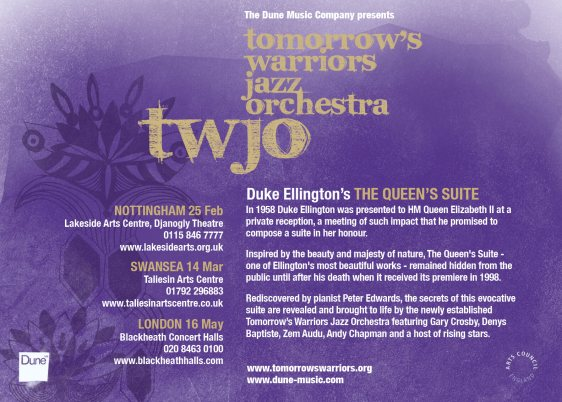Nu Civilisation Orchestra-The Queen's Suite flyer