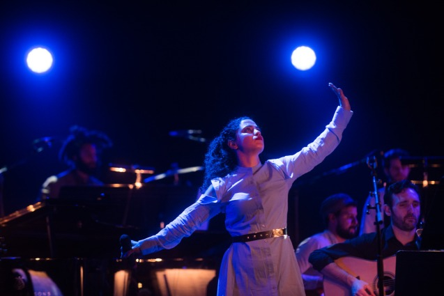 Nu Civilisation Orchestra - Hejira - Southbank Centre - Emel Mathlouthi