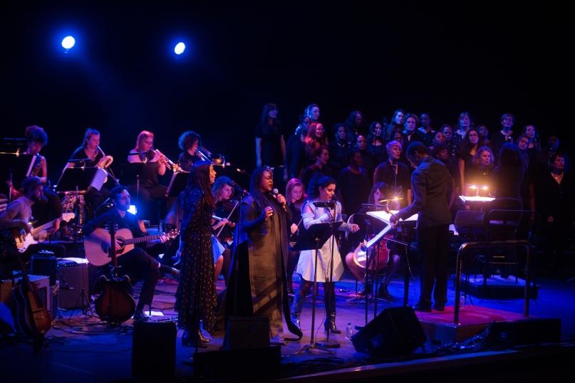 Nu Civilisation Orchestra-Hejira-Southbank Centre-Eska-Lisa Hannigan-Emel Mathlouthi